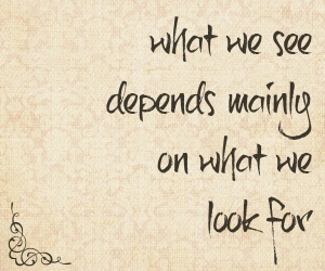 what-we-see-depends-mainly-on-what-we-look-for
